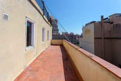 Penthouse for reform with 3 huge terraces in Passeig de Gracia in Barcelona
